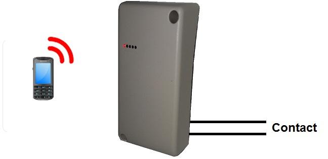 principe télécommande GSM