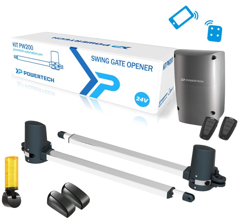 kit powertech qui permet d'ouvrir son portail avec son téléphone