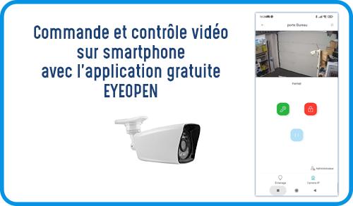 l'application EyeOpen pour ouvrir son portail avec son téléphone